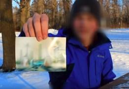 Homem afirma viajar no tempo e mostra foto do ano 6000- VEJA VÍDEO