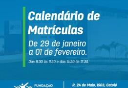 Cursos gratuitos têm 260 vagas ofertadas na Paraiba
