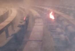Incêndio atinge plenário da Câmara dos Deputados