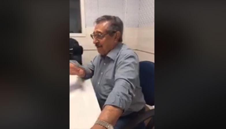 maranhão 1 - VEJA VÍDEO: Maranhão se descuida em intervalo de entrevista e menospreza pré candidatura de Luciano Cartaxo