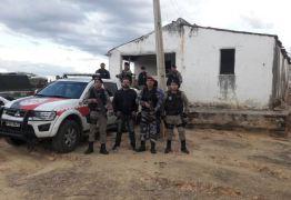 Ação conjunta da polícia apreende duas toneladas de explosivo no sertão paraibano