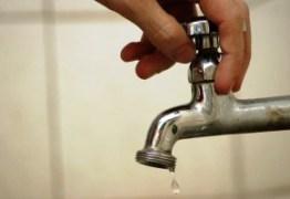Falta água em três bairros de Santa Rita nesta quinta-feira; confira