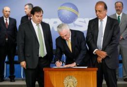 Temer diz que governo dará respostas duras e firmes ao crime organizado no Rio