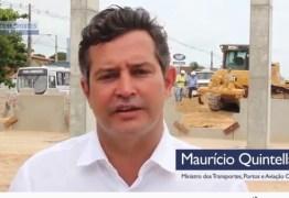 VEJA VÍDEO: ministro ressalta obra da terceira faixa da BR 230 entre João Pessoa e Cabedelo