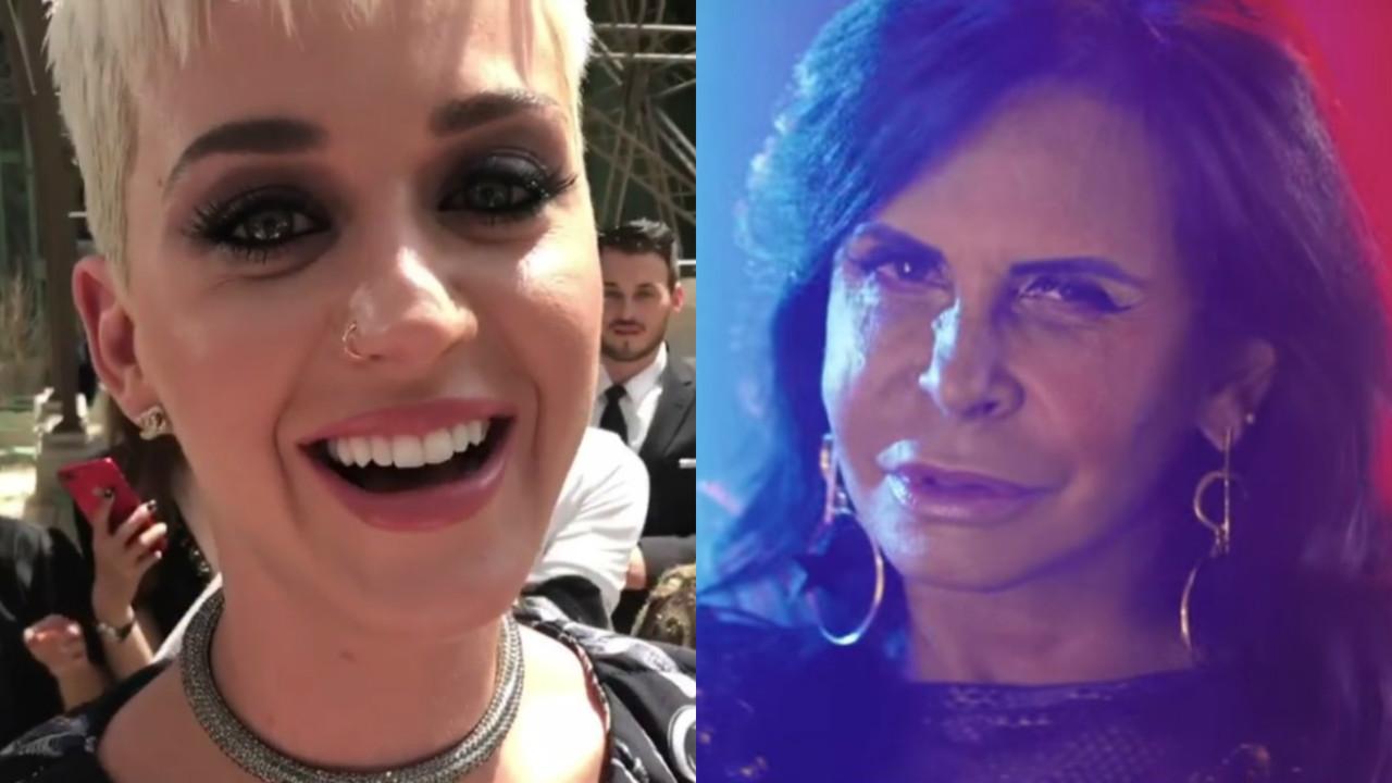 Katy Perry e Gretchen - Kate Perry convida Gretchen para participar de sua turnê no Brasil