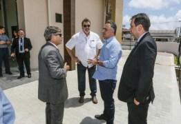 Cartaxo visita obras do novo Complexo Judiciário em Mangabeira