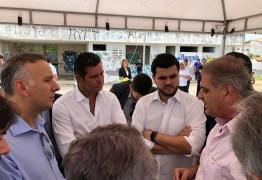 Deputado Aguinaldo Ribeiro acompanha ministro dos Transportes, Maurício Quintela, durante visita à Campina Grande