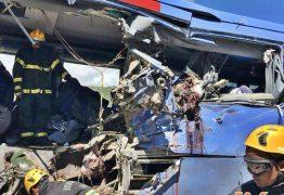 VEJA VÍDEO: Assista o momento do regate das vítimas do acidente com ônibus da Guanabara
