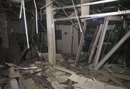VEJA VÍDEO: Bandidos explodem agência da Caixa Econômica de Jaguaribe