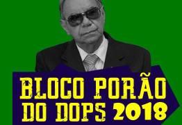 Juiz barra desfile do bloco carnavalesco 'Porão do Dops'