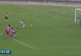 Em tarde inspirada de Rhuan, Serrano arranca empate com o Campinense no Amigão