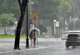 Em 24 horas, João Pessoa tem um quarto das chuvas esperadas para fevereiro