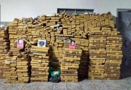 Polícia apreende mais de duas toneladas de drogas em Itabaiana