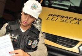 Detran-PB intensifica Operação Lei Seca durante o Carnaval