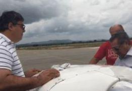 Pouso emergencial de Maranhão em Cajazeiras é destaque no Estadão