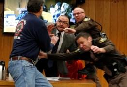 Pai de ginastas se desculpa por tentar agredir médico em julgamento