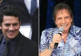 VEJA VÍDEO: Roberto Carlos 'rasga' elogios a Sérgio Moro e plateia vai ao delírio