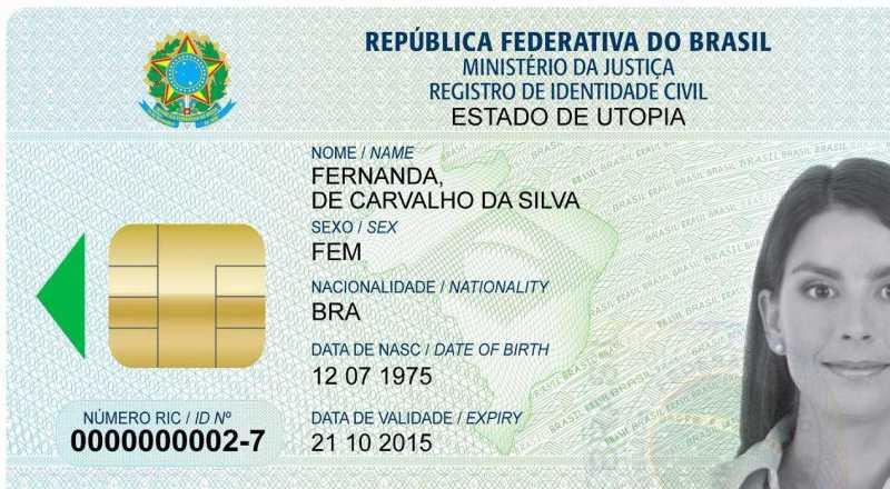 t 1 - Governo quer liberar até julho documento único de identificação