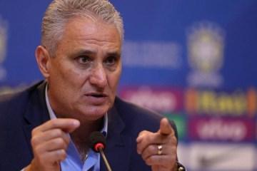 Tite convocará seleção para jogos contra Venezuela e Uruguai na sexta-feira