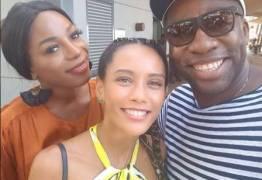 """Pabllo Vittar de Angola grava com Taís Araújo e sonha cantar com Drag brasileira """"seria um tiro"""""""