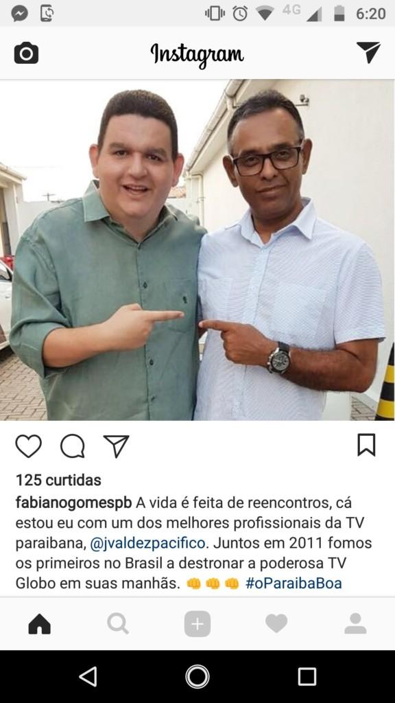 28783624 10216294917986713 6877392519605256192 o - VALDEZ TEM NOVA CASA: Fabiano Gomes já conta com novo reforço nas manhãs da Arapuan