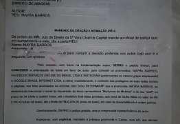 CASO MAYRA: Fuba consegue liminar e cantora terá que excluir publicações sobre o incidente – VEJA VÍDEO