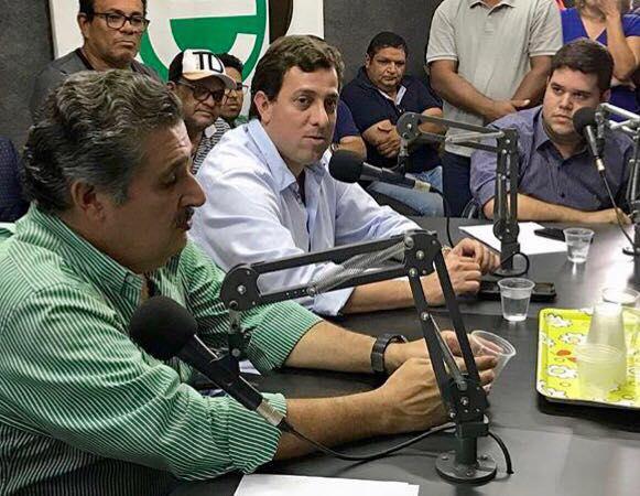 GERVASINHO - Arnaldo Monteiro declara apoio a pré-candidatura de Gervásio Maia à Câmara Federal