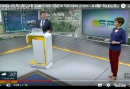 VEJA VÍDEO- Rodrigo Bocardi e Glória Vanique se desentendem no 'Bom Dia SP'