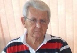 Armando Vasconcelos falece em João Pessoa e será sepultado no fim da tarde desta sexta
