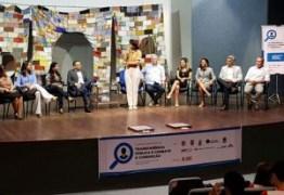 Estudantes das escolas municipais participam de palestra contra corrupção