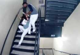 VEJA VÍDEO: Justiça libera imagens de agressão de jogador à namorada; Imagens fortes