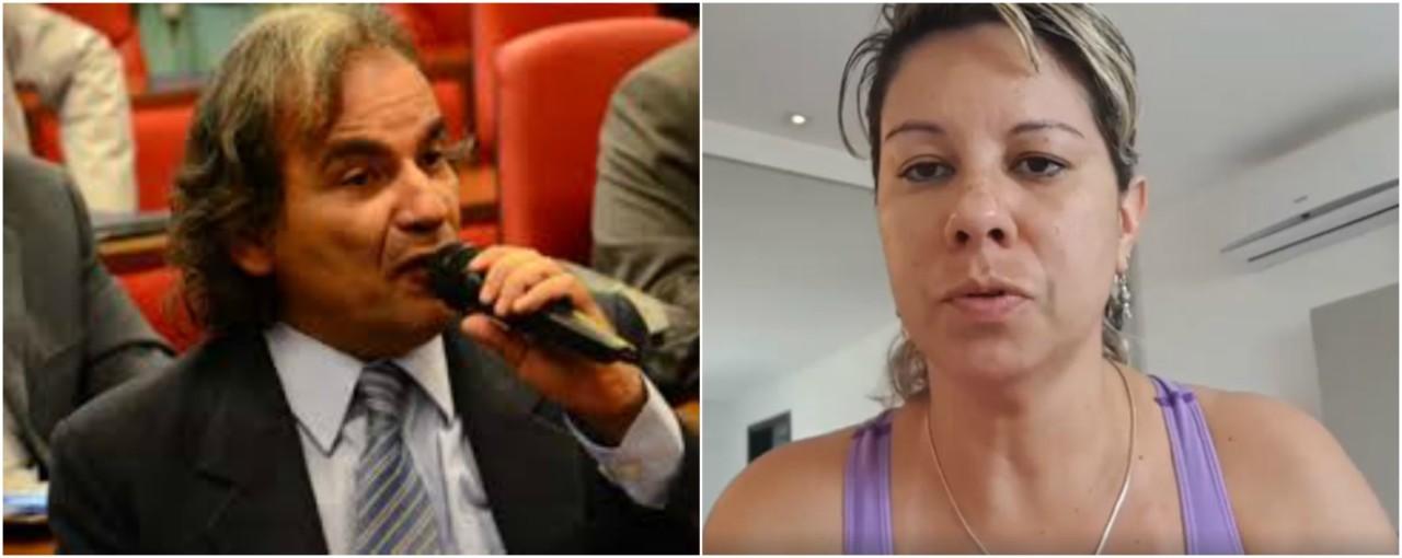 fuba e mayra  - OUÇA: Após relato de agressão, Fuba revela áudio em que Mayra Barros pede perdão e explica 'surto'