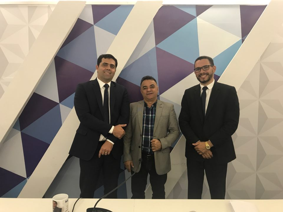 gutemberg cardoso luis pereira inácio queiroz - VEJA VÍDEO: Inácio Queiroz e Luís Pereira debatem temas jurídicos mais polêmicos da atualidade