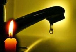 Apagão deixou toda a Paraíba sem água