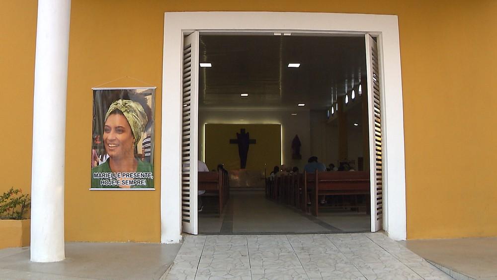 marielle 6 - Familiares de Marielle Franco celebram missa de 7º dia em João Pessoa
