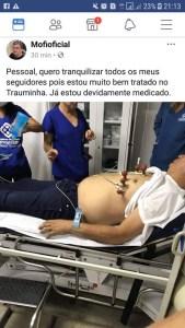 mofi 2 169x300 - Repórter Emerson Machado (Mofi) é internado com suspeita de infarto - VEJA FOTOS  E VÍDEO