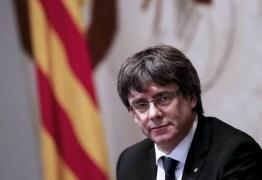 Líder Catalão é preso pela polícia na fronteira com a Dinamarca