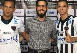 Se preparando para enfrentar o Náutico-PE, Botafogo-PB treina e apresenta dois reforços
