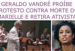 CENSURA? Artigo de paraibano criticando censura de Vandré contra caso de Marielle repercute nacionalmente