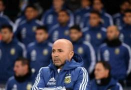 VERGONHA ARGENTINA: Após derrota por 6×1, Sampaoli diz que seleção foi esbofeteada pela Espanha