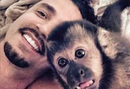 Latino está de luto: Twelves, seu macaco de estimação, morre atropelado no RJ