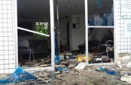 Grupo armado explode cofre em posto de combustíveis e foge com dinheiro em Montadas
