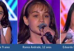 A PARAÍBA NA TORCIDA: Três paraibanas disputam a semifinal do The Voice Kids