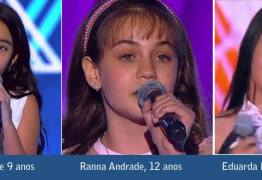 A PARAÍBA NA TORCIDA: Três paraibanas disputam a semifinal do The Voice Kids