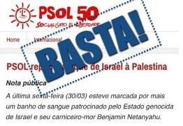 Federação Israelita do Rio pede desfiliação de judeus do PSOL