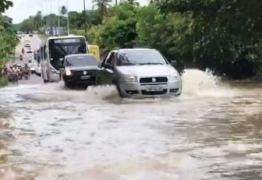 Em 72 horas, João Pessoa registra 115 milímetros de chuva e Defesa Civil emite alerta de mais chuvas