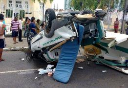 Motorista da ambulância envolvida em acidente que matou grávida é indiciado por homicídio culposo