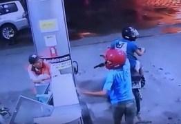 VEJA VÍDEO: Câmeras de segurança registram assalto a posto de combustível em João Pessoa