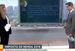 Jornalista da Globo cai em meme pornô durante programa ao vivo –  VEJA VÍDEO