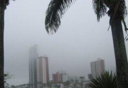 Campina e mais 98 cidades da PB estão em estado de alerta para chuva forte